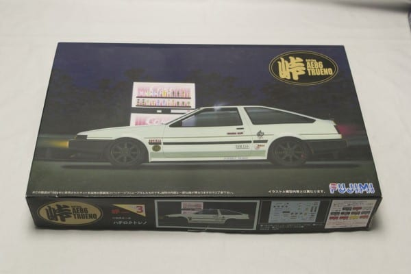 Toyota AE86 Trueno Drift King 1-24